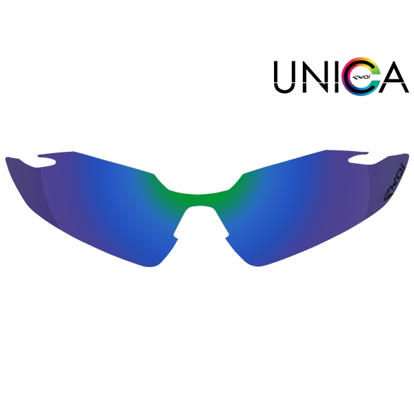 Verre UNICA CAT-3 bleu