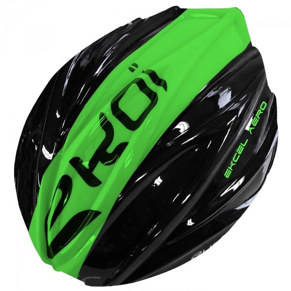 Snímatelná skořepina EKCEL EVO2 černo-zelená