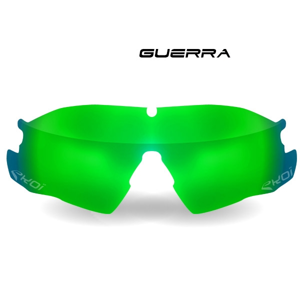 Skla GUERRA Revo zelená kategorie 3