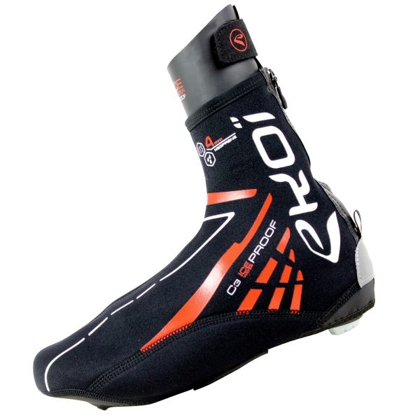 Návleky na boty EKOI C3 Ice Neoprene 4MM, černá