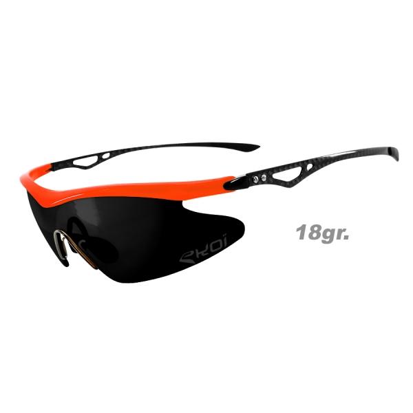 Brýle Real Carbone EKOI LTD Zrcadlové Oranžová