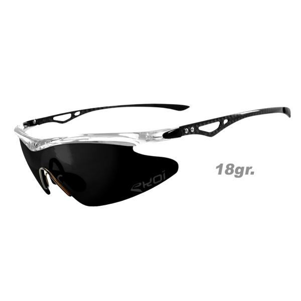 Brýle Real Carbone EKOI LTD Crystal Zrcadlové