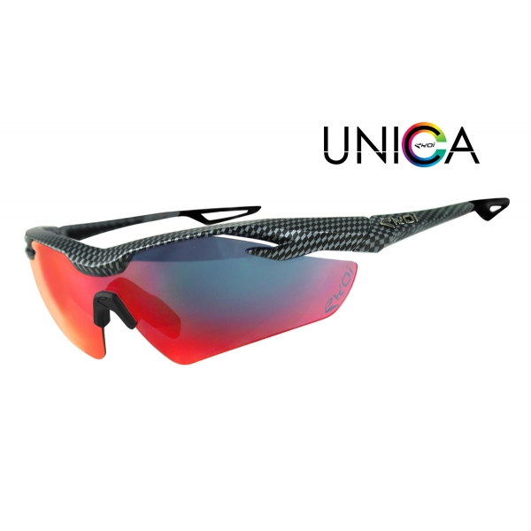 Brýle UNICA EKOI LTD Carbone, Revo červená