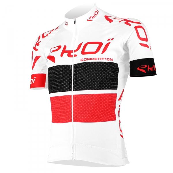 Maillot EKOI COMP10 Blanc Noir Rouge