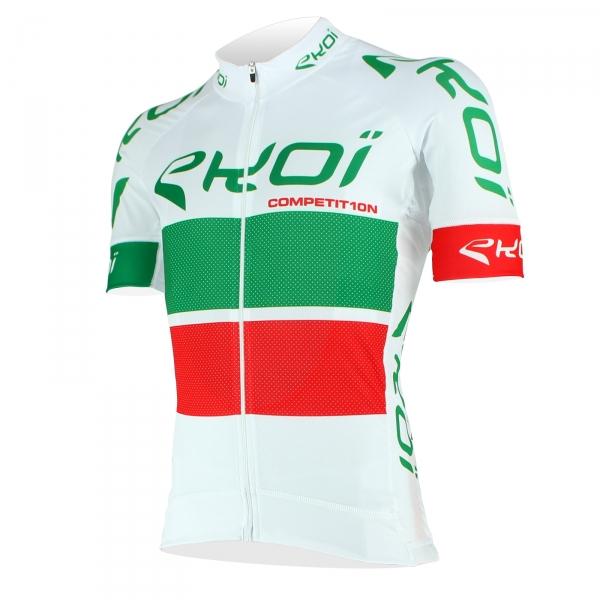 Maillot EKOI COMP10 Blanc Vert Rouge