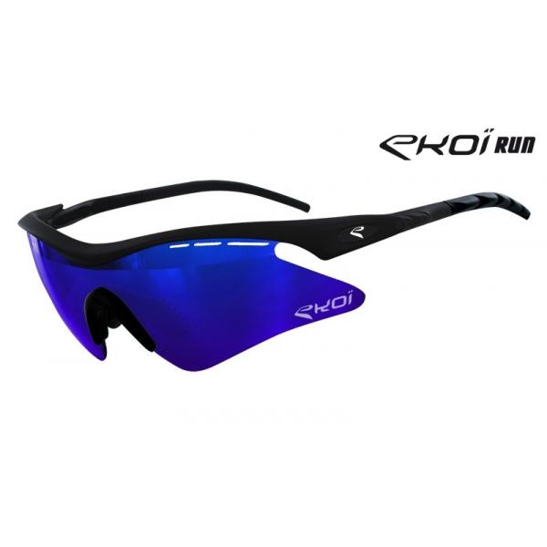 Brýle Light EKOI RUN, Matná černá / Modrá