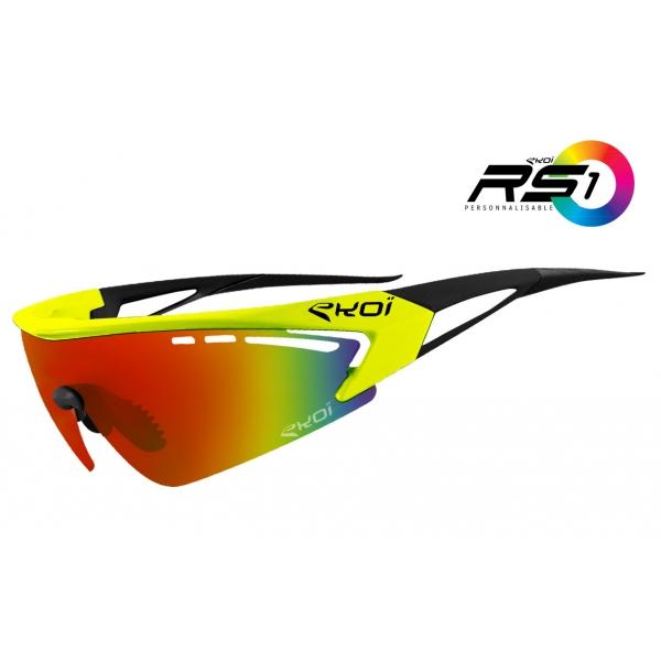 Brýle RS1 EKOI LTD, Žlutá / černá / revo červená