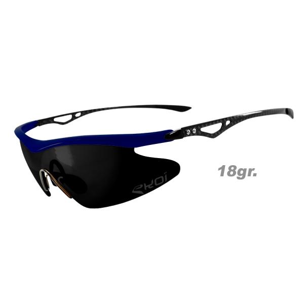 Brýle Real Carbone EKOI LTD Zrcadlové Francouzská modrá