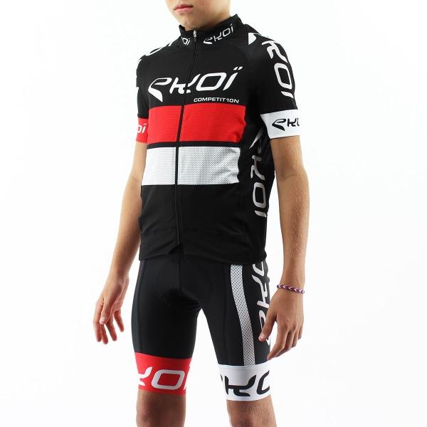 Dětský set EKOI COMP10 Černo-červeno-bílá