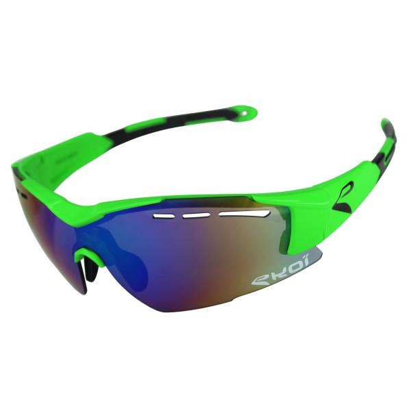 Brýle EKOI F15, Fluo zelená Revo zelená