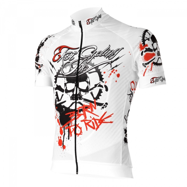 Maillot EKOI Born To Ride in EKOI Blanc