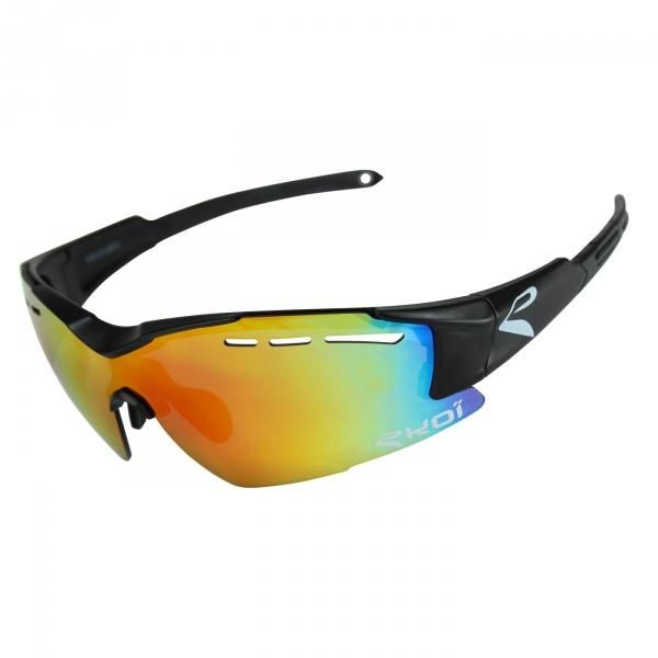 Brýle EKOI F15, Černá matná Revo