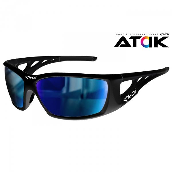 Atak EKOI LTD Noir mat Revo bleu